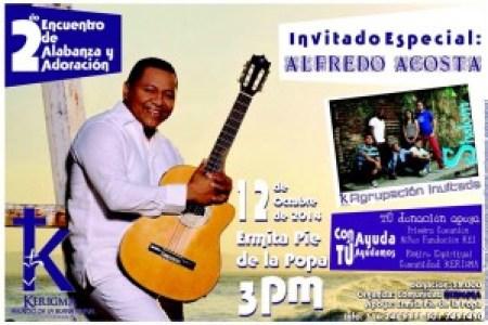 Segundo concierto de adoración y alabanza organizado por la comunidad Kerigma