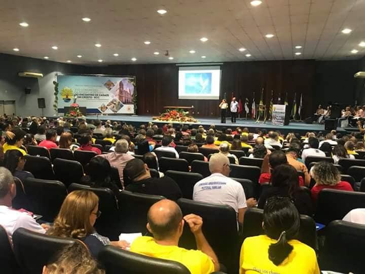 O Congresso Regional do ECC foi realizado no auditório da Uninovafapi