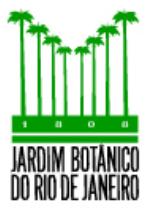 Dados do Jardim Botânico do Rio de Janeiro