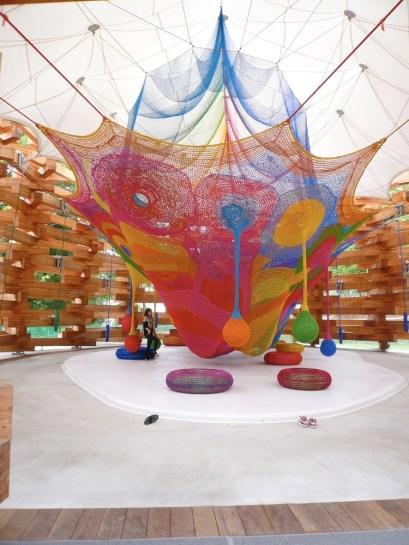 Woods of Net-Tezuka Architects -TIS & PARTNERS photo by Abel Erazo