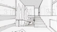 arquitectura para casa-patio en Peñalba