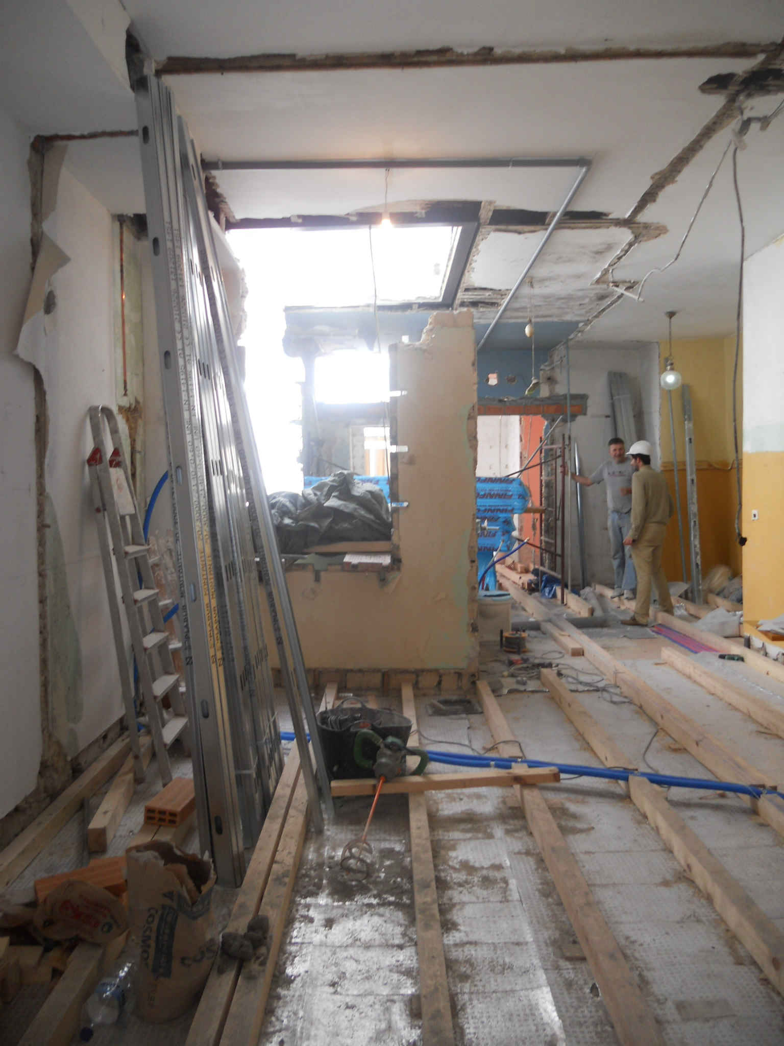 Las obras del piso en la calle pr ncipe vigo marchan a buen ritmo rodrigo curr s torres - Interiorismo vigo ...