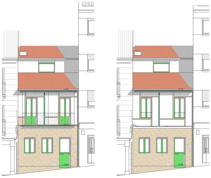 opciones-alzados-vivienda-turistica-casco-vello-marin-arquitecto-arquitectos-vigo