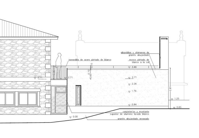 alzado-proyecto-lavanderia-reforma-ampliacion-arquitecto-coruna-arquitectos