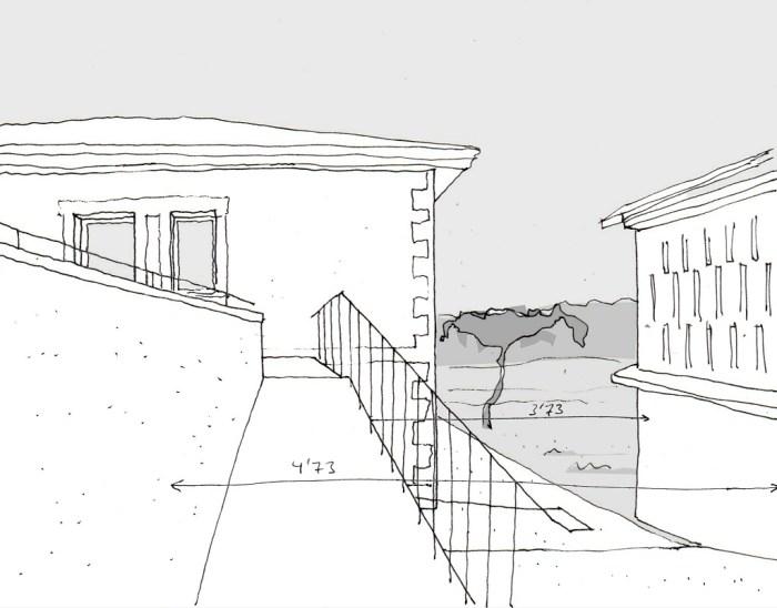 boceto-rampa-horreo-arquitectura-ampliacion-arquitectos-coiros-coruna-arquitecto