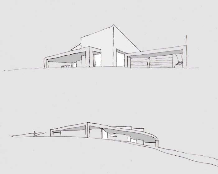 croquis-fachada-patio-arquitectos-casa-redondela-arquitecto-moana-arquitecto-porto-vigo