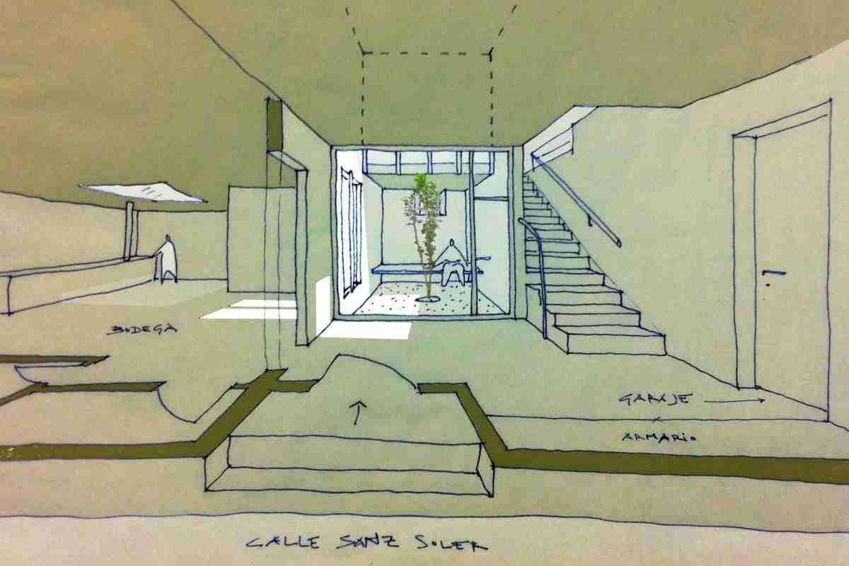 Patio interior arquitectos huesca - Arquitectos huesca ...