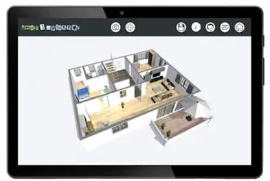 Aplicación para plano Plano de planta 3D/smart3Dplanner