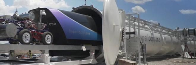 Hyperloop One supera los 300 kilómetros por hora en nuevo ensayo