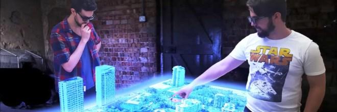 La primera mesa holográfica ya existe y puede ser tuya por 47.000 dólares