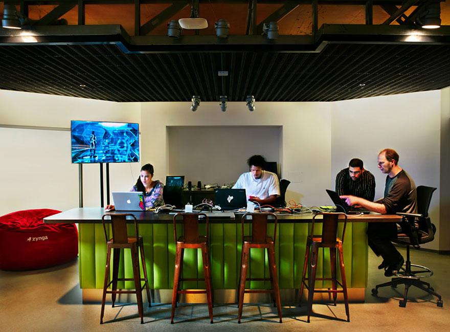 Las 12 oficinas mas chulas del mundo - Arquitectura Ideal - Zynga 3