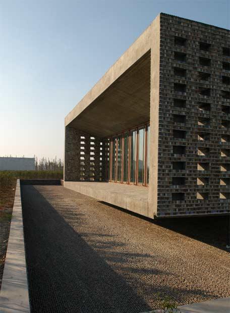 'Ceramic House', en China - obra de Wang Shu