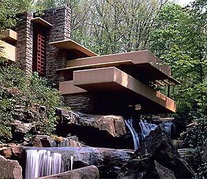 La Casa de la Cascada, la construcción más conocida de Lloyd Wright | www.fallingwater.org