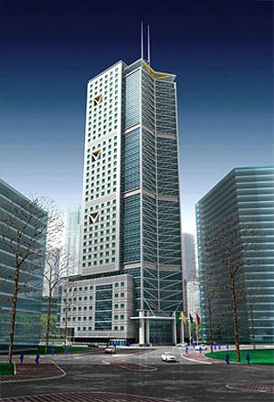 Posible diseño de la futura torre vietnamita. | elmundo.es