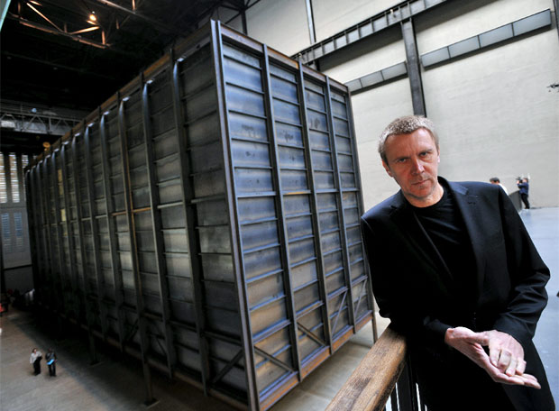 Un contenedor de Balka en la Tate Modern