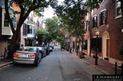 Barrio entre las calles Cambridge, Beacon, y Charles, Boston MA. 2013