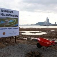 Aquí se construye el parque de la cinta costera