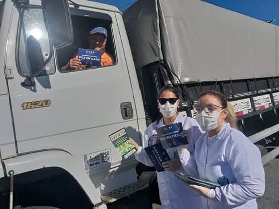 Matinhos e Pontal do Paraná realizam barreira sanitária em seus acessos 2