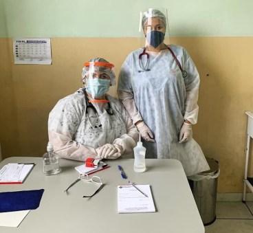 Estudantes de medicina são voluntários na Unidade de Enfrentamento à Covid-19 de Morretes 2