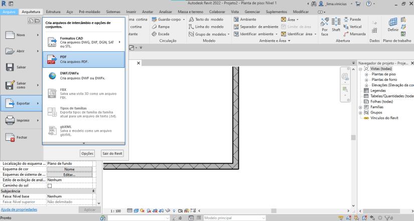 exportador de pdf nativo