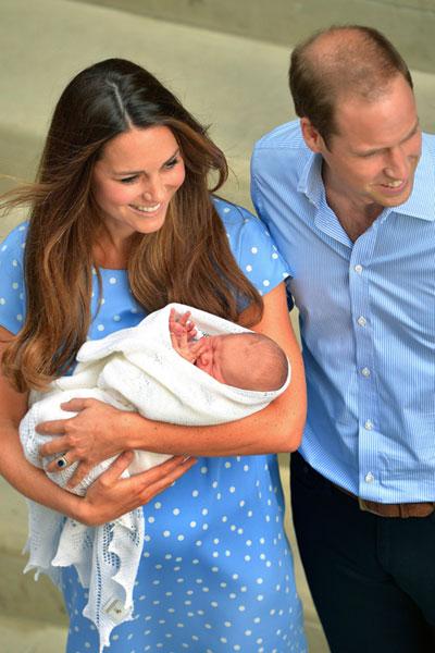 Kate, William e o filho: bebê ainda terá o nome escolhido