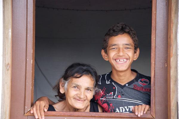 Isaías, 14 anos, pediu um tratamento dentário