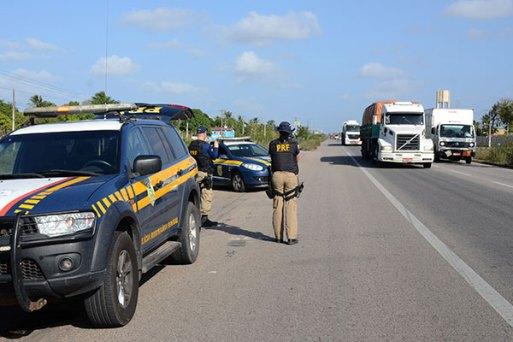 Operação da PRF terá início amanhã (9) e segue até a quarta-feira (14) nas estradas federais que cortam o Rio Grande do Norte