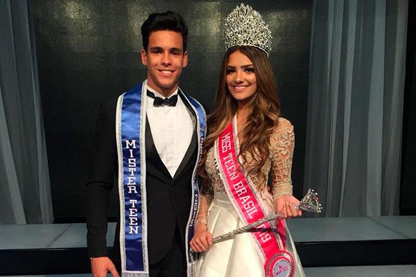 RN conquista os títulos de Miss e Mister Teen Brasil 2018