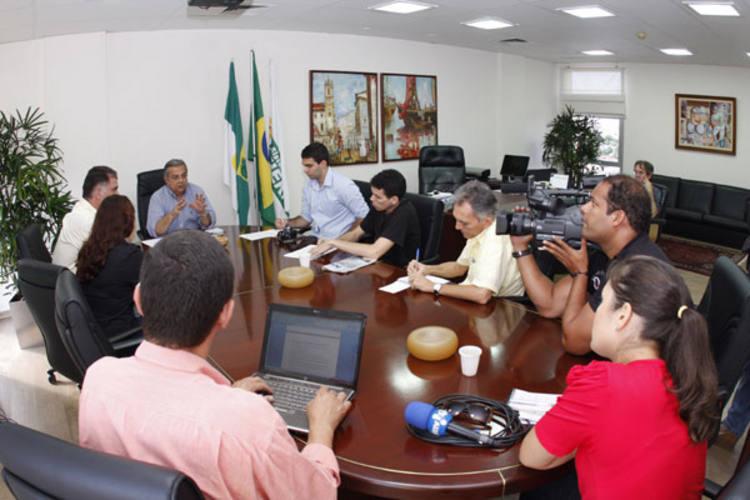Em coletiva, presidente da Fiern, Flávio Azevedo apresentou os números do novo investimento