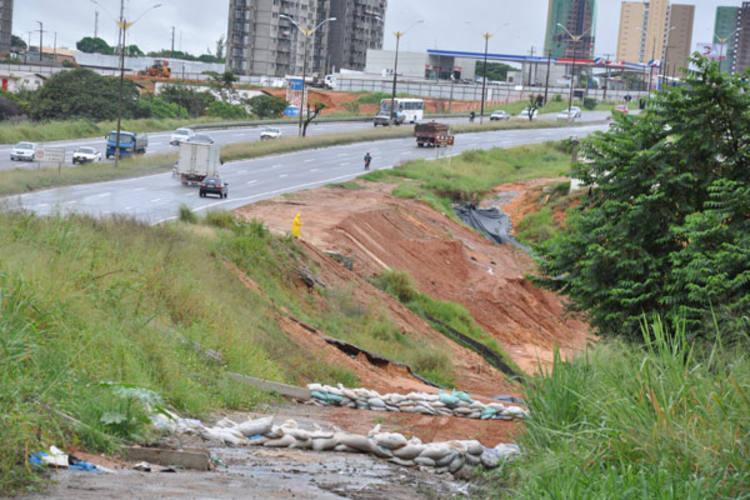 Procuradores federais pedem explicações sobre impacto ambiental de projeto definitivo para conter erosão da BR-101, em Natal