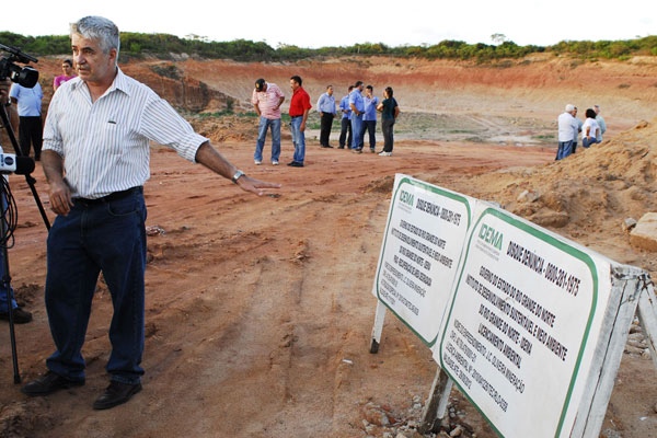 O diretor técnico do Idema, Jamir Fernandes, anunciou que amanhã emite novo laudo sobre a área