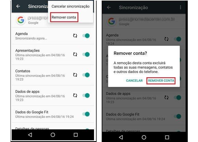 Como corrigir problemas de sincronização do Android 2