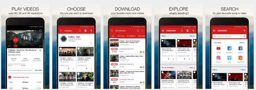 Baixar Playlist do Youtube: Com videoder melhor app 1