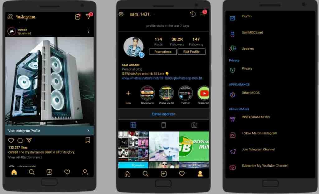 Baixar melhores Instagram Mod Hack para Android 1