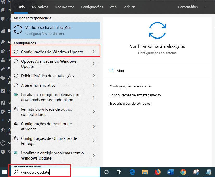 Windows Update: Corrigir erros de atualização Windows 10 1