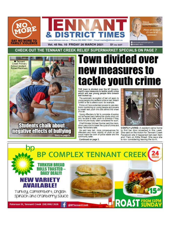 Tennant & District Times 26 March 2021