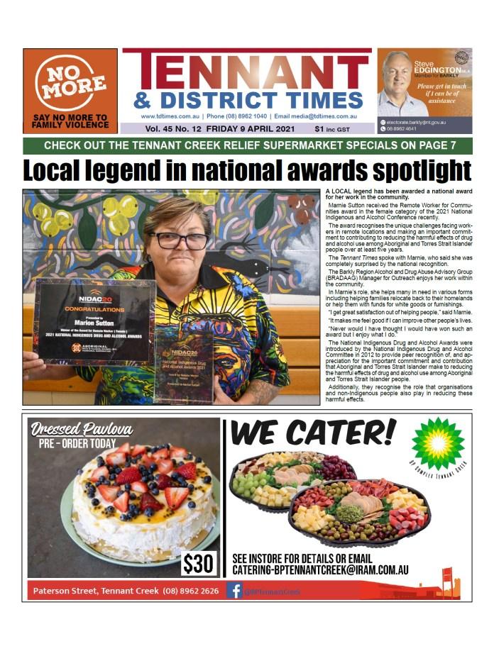 Tennant & District Times 9 April 2021
