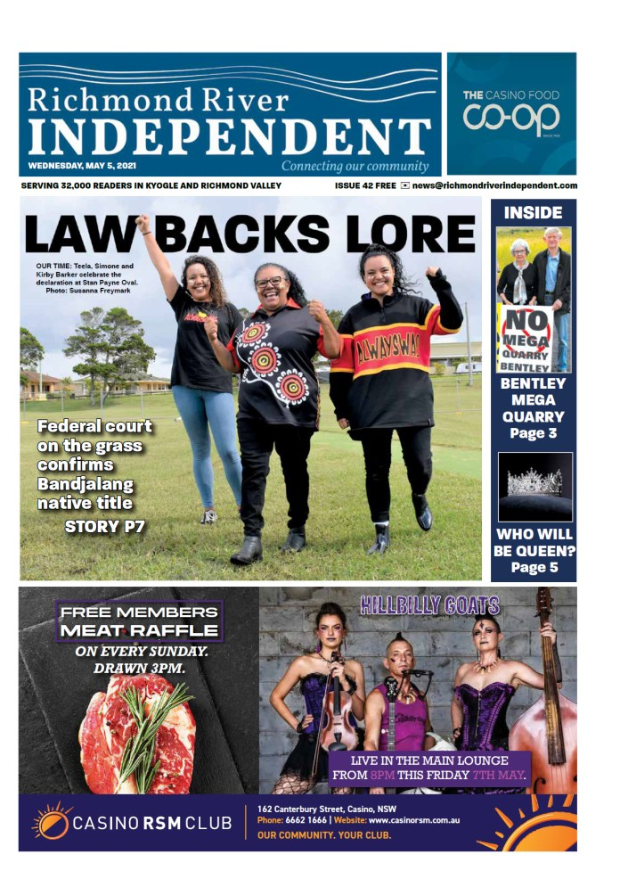 Richmond Tiver Independent 5 May 2021