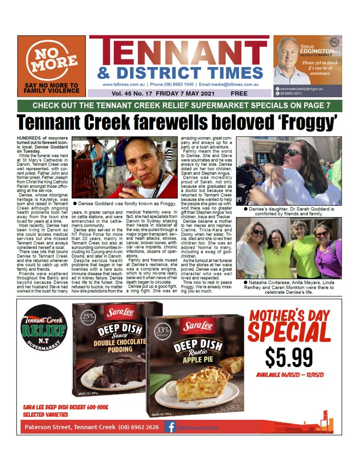 Tennant & District Times 7 May 2021