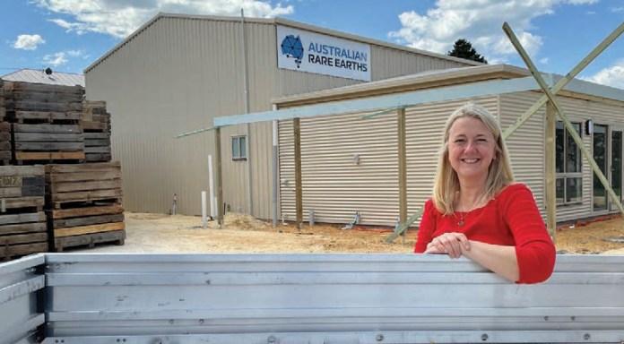 Australian Rare Earths Limited Jacqui Owen