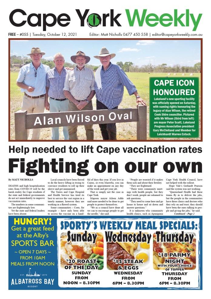 Cape York Weekly 12 October 2021