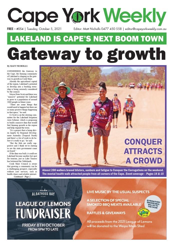 Cape York Weekly 5 October 2021