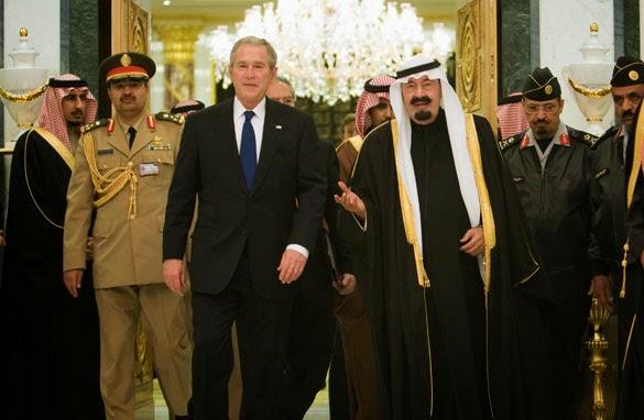 Raja-Abdullah-Dan-Bush