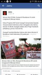 Kritik Jonru Kepada Jokowi
