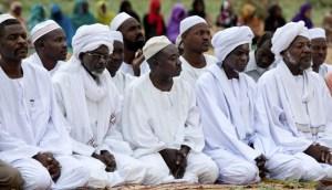 Sholat Idul Fitri di Sudan