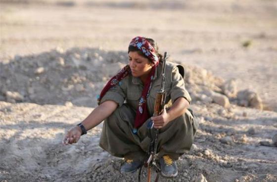 3 pejuang Wanita Kurdi lawan ISIS