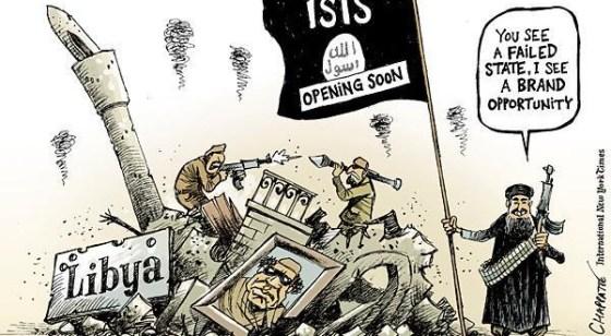 Karikatur ISIS, Ideologi Radikal