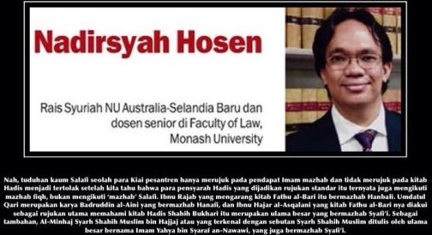 Nadirsyah Hosen, Rais Syuriah Australia-Selandia Baru