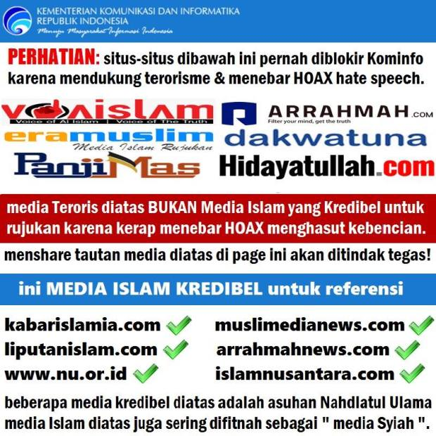 Bedakan Situa Aswaja dan Situs Radikal Berafiliasi Dengan Teroris