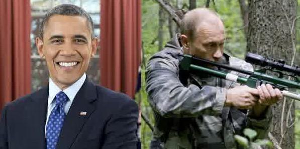 "Ngabalin Stroke: Putin Vs. Obama: ""Macho Man"" Vs.""Girly Boy""? ; Video"